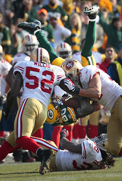 49ers Packers Football