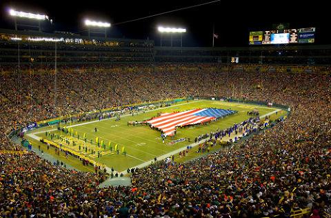 Ravens Packers Football