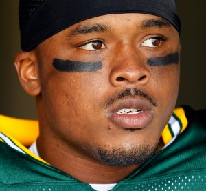 Green Bay Packers tight end Jermichael Finley.