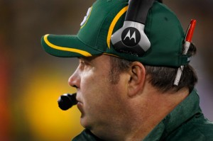 Green Bay Packers head coach Mike McCarthy.