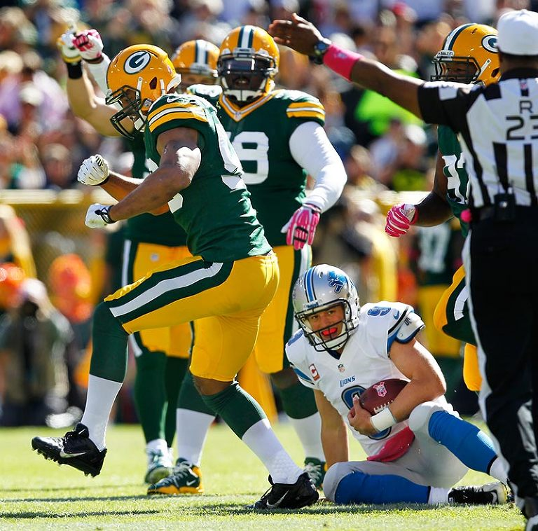Packers Sack Celebration