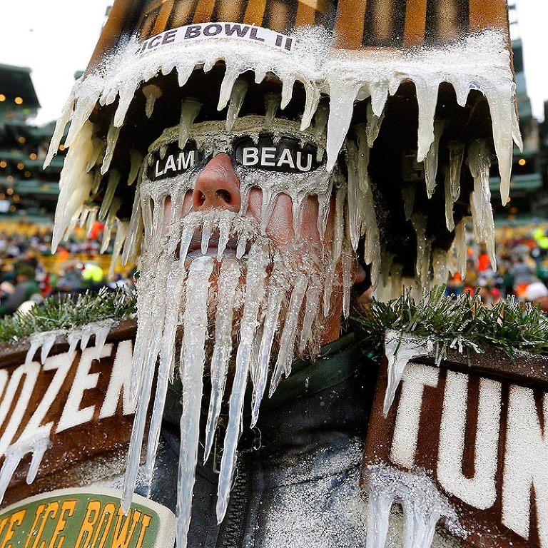 Green Bay packers fan Jeff Kahlow.