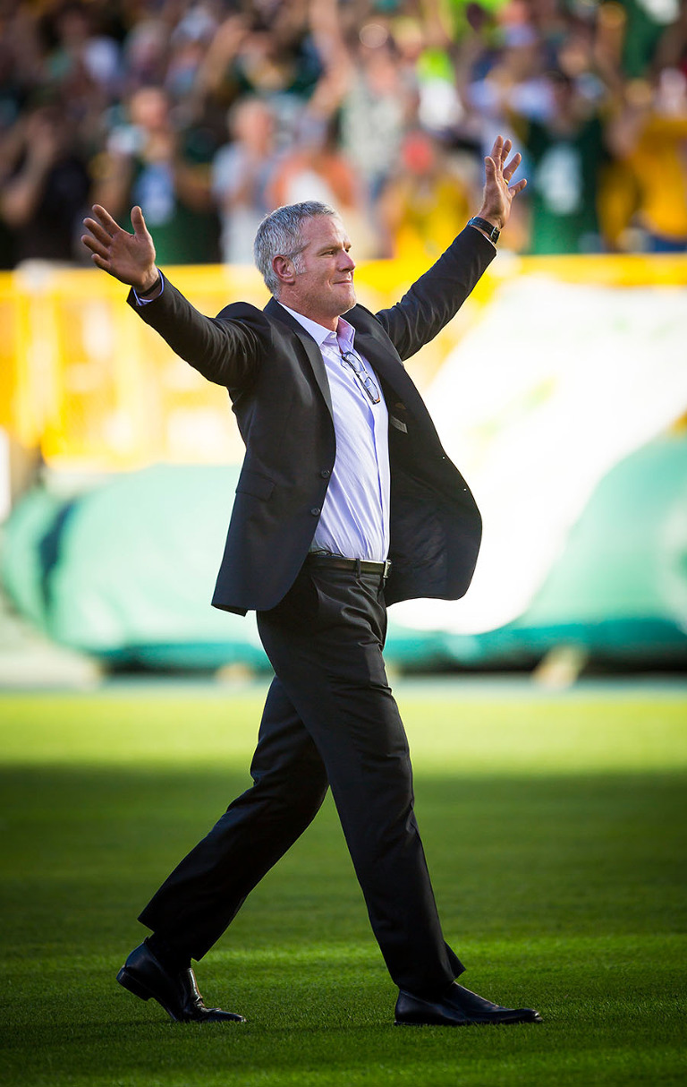 11 Brett Favre Return to Lambeau