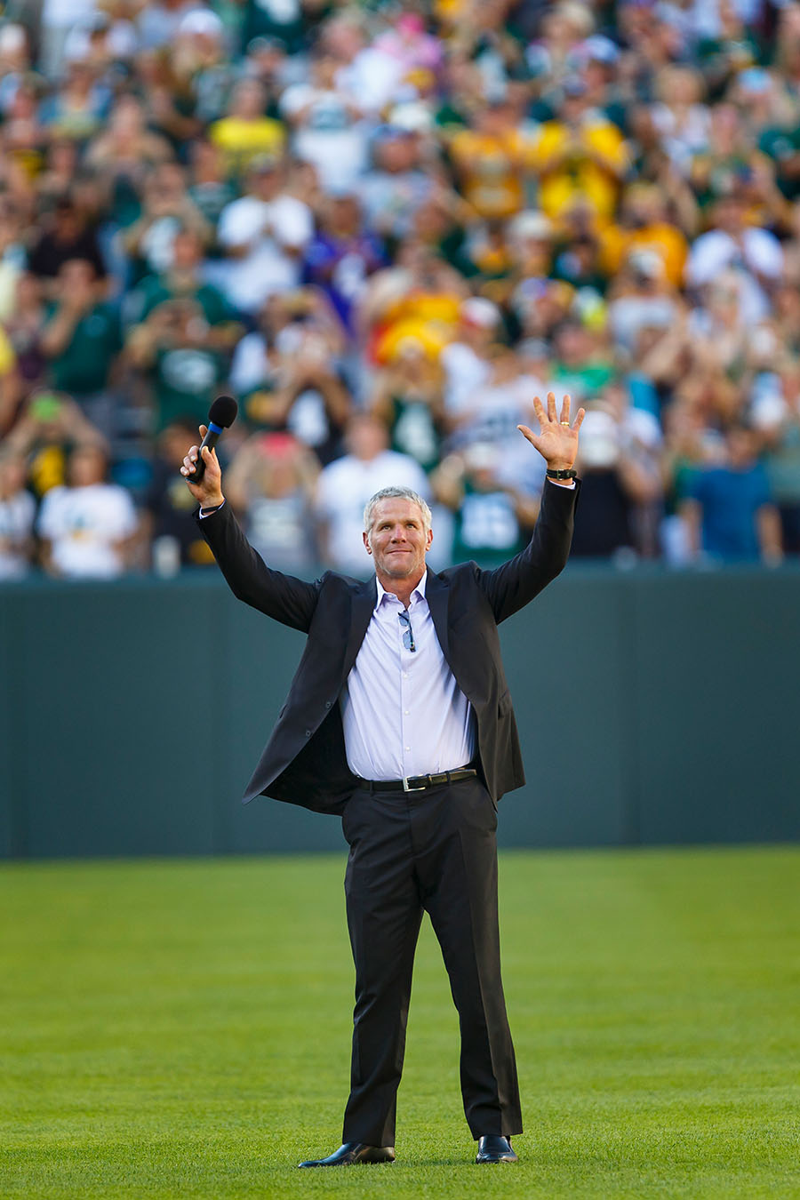 12 Brett Favre Return to Lambeau