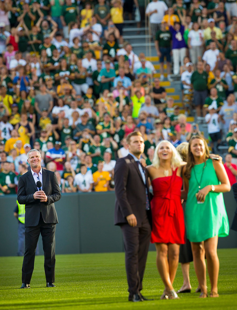 13 Brett Favre Return to Lambeau