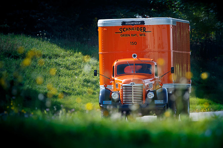 1 Wisconsin Trucking Photographer
