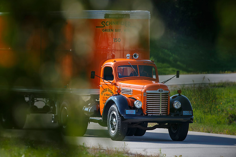 2 midwest Trucking Photographer