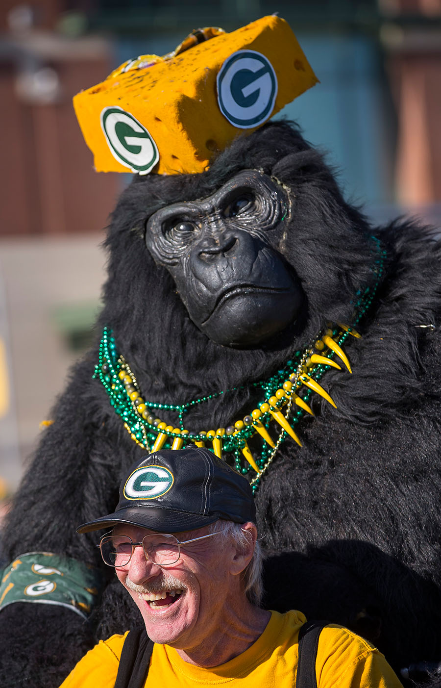 before an NFL football game Sunday, Nov. 6, 2016, in Green Bay, Wis. (AP Photo/Mike Roemer)