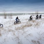 Photos From The Shelltrack Snow Crown Fat-Bike Race Series In Manitowoc, Wisconsin.