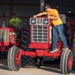 "Wisconsin Agriculture Photographer ""Take Your Tractor To School Day"" at Denmark High School"