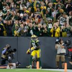 15Packers Geronimo Allison Touchdown Celebration Lameab Leap