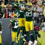 16Packers Geronimo Allison Touchdown Celebration Lameab Leap