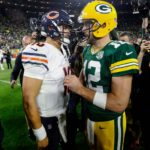 19Packers Aaron Rodgers Bears Mitchell Trubisky