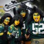 Packers fans before the game.
