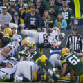 Green Bay Wisconsin Editorial Photographer • Telling The Story Of The Packers Win Over The Raiders.