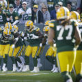 35 Packers defense celebration