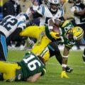 05 Packers Jamaal Williams Lambeau Leap