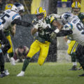 16 Packers Aaron Jones Snow