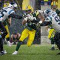 16 Packers Aaron Jones Snow