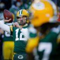 004 Packers Aaron Rodgers lambeau Leap
