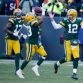 014 Green Bay Packers Aaron Rodgers Touchdown Throw