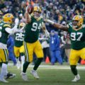 018 Green Bay Packers Dean Lowry interception