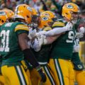 019 Green Bay Packers Dean Lowry interception