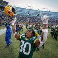 022 Green Bay Packers Jamaal Williams celebration