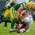 16 Redskins quarterback Dwayne Haskins