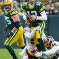 20 Redskins sack Aaron Rodgers