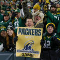 14 Packers fans NFC sign