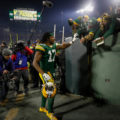 19 Davante Adams Celeberation tunnel