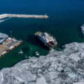 12 Washington Island Ferry Drone Photos