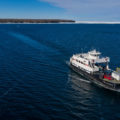 15 Washington Island Ferry Drone Photos