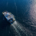 16 Washington Island Ferry Drone Photos