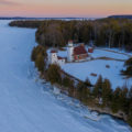 25 Sherwood Point Lighthouse Drone Photos