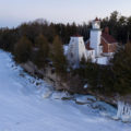 26 Sherwood Point Lighthouse Drone Photos